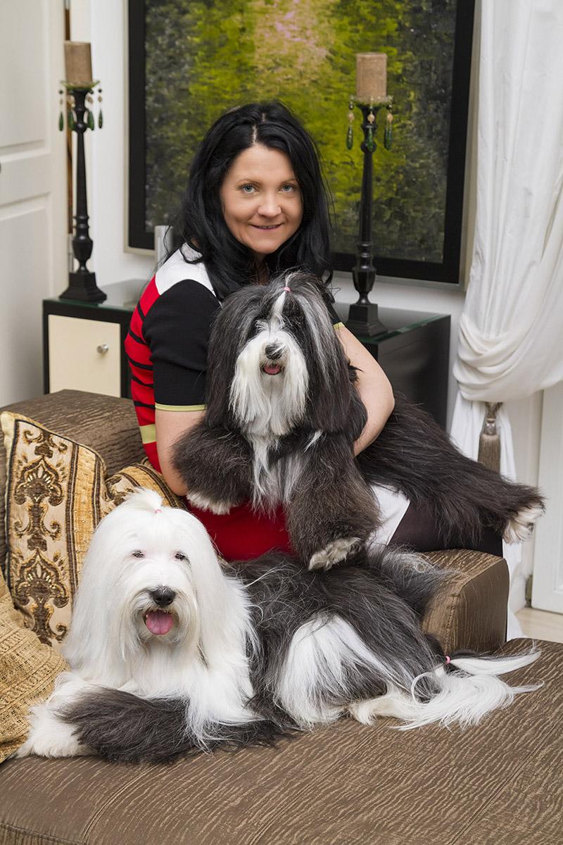 tibeti terrier, Náray Tamás kutyái